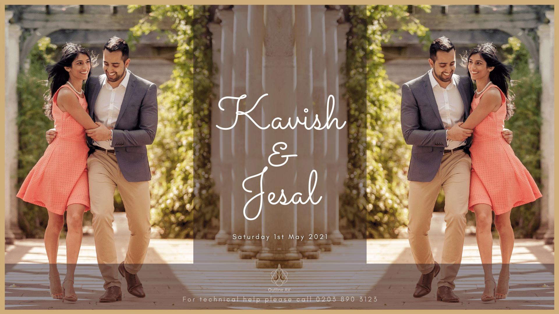 Kavish & Jesal - Live Stream (2)