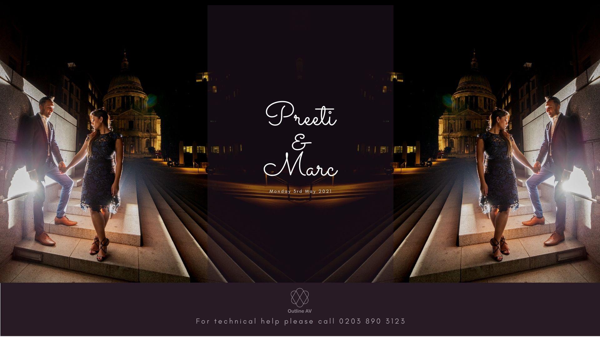Priti & Marc v2 - Live Stream