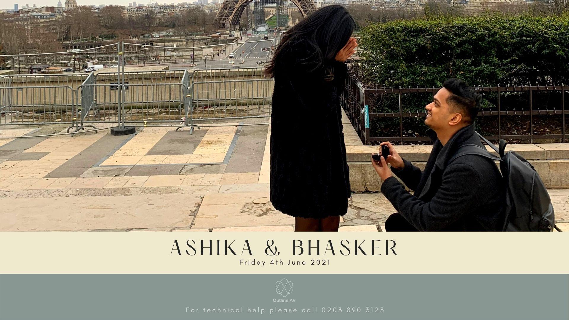 Ashika & Bhasker - Live Stream