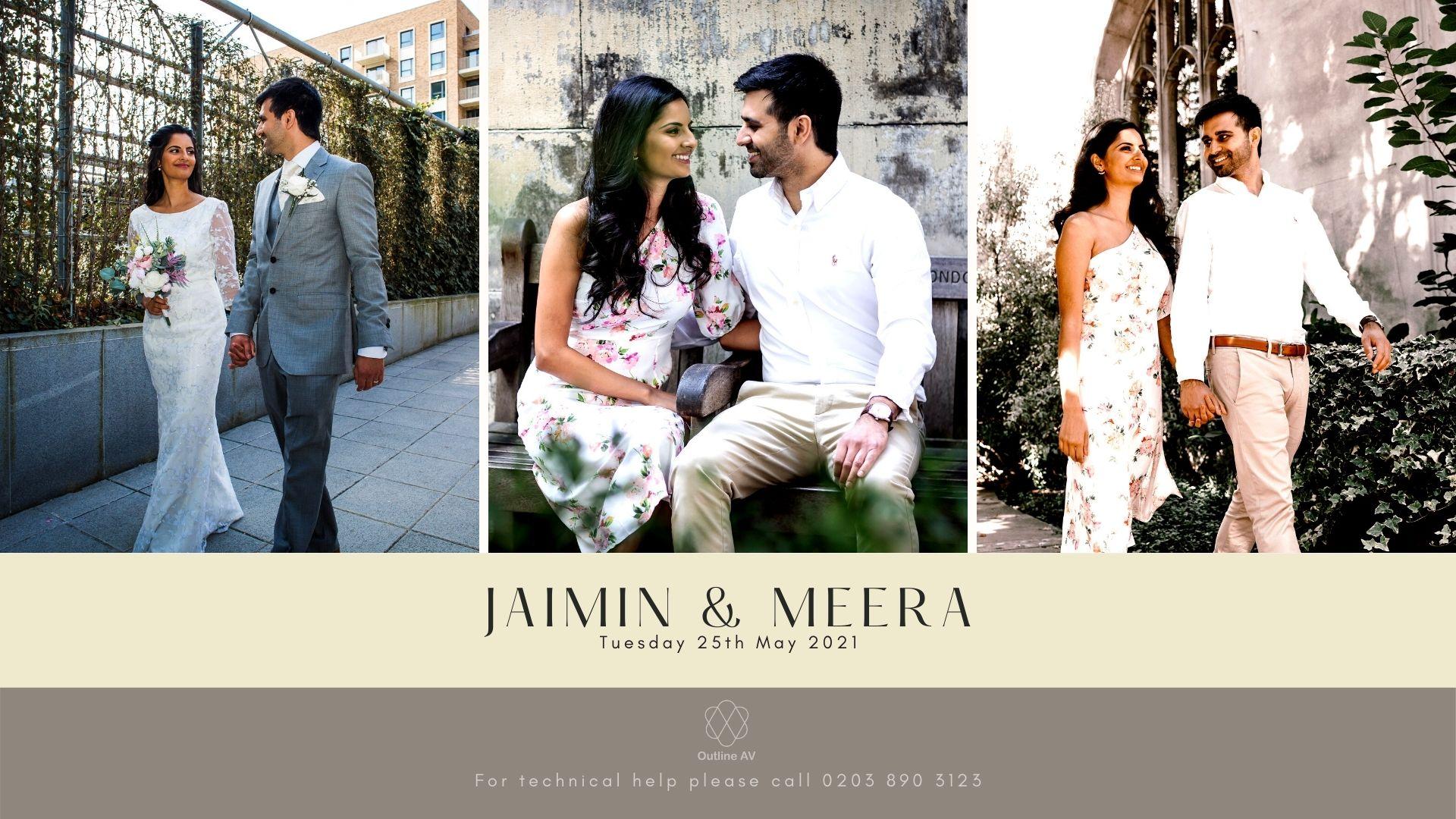 Jaimin & Meera - Live Stream