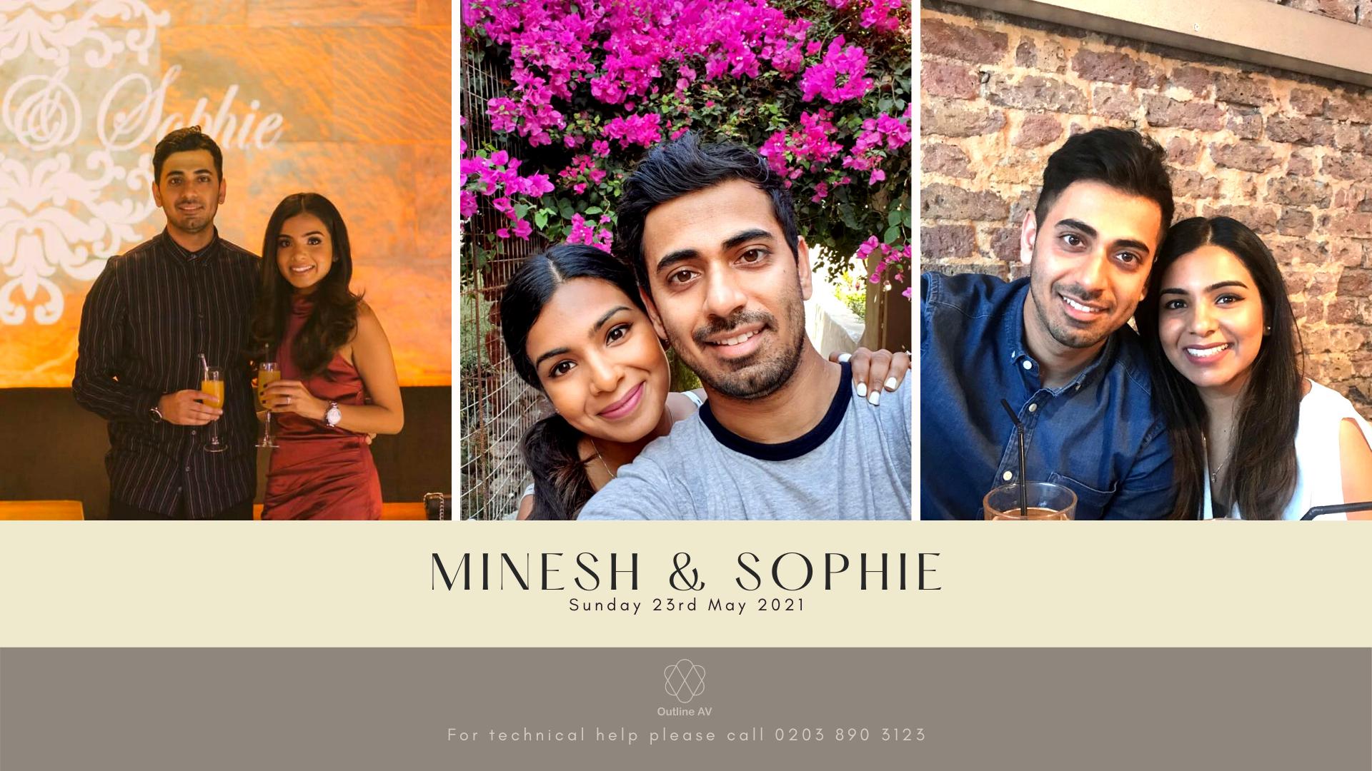Minesh & Sophie - Live Stream