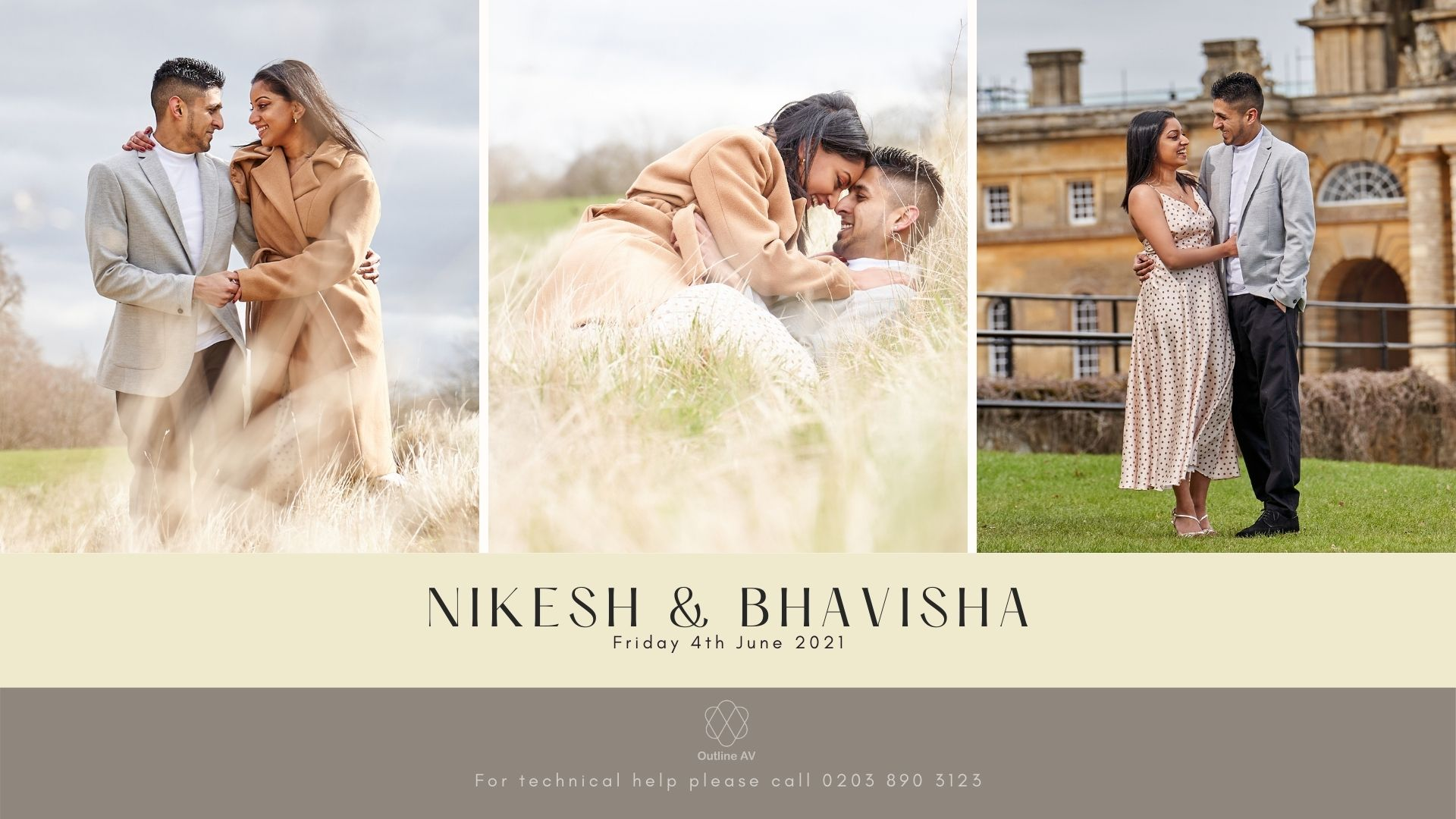 Nikesh & Bhavisha - Live Stream