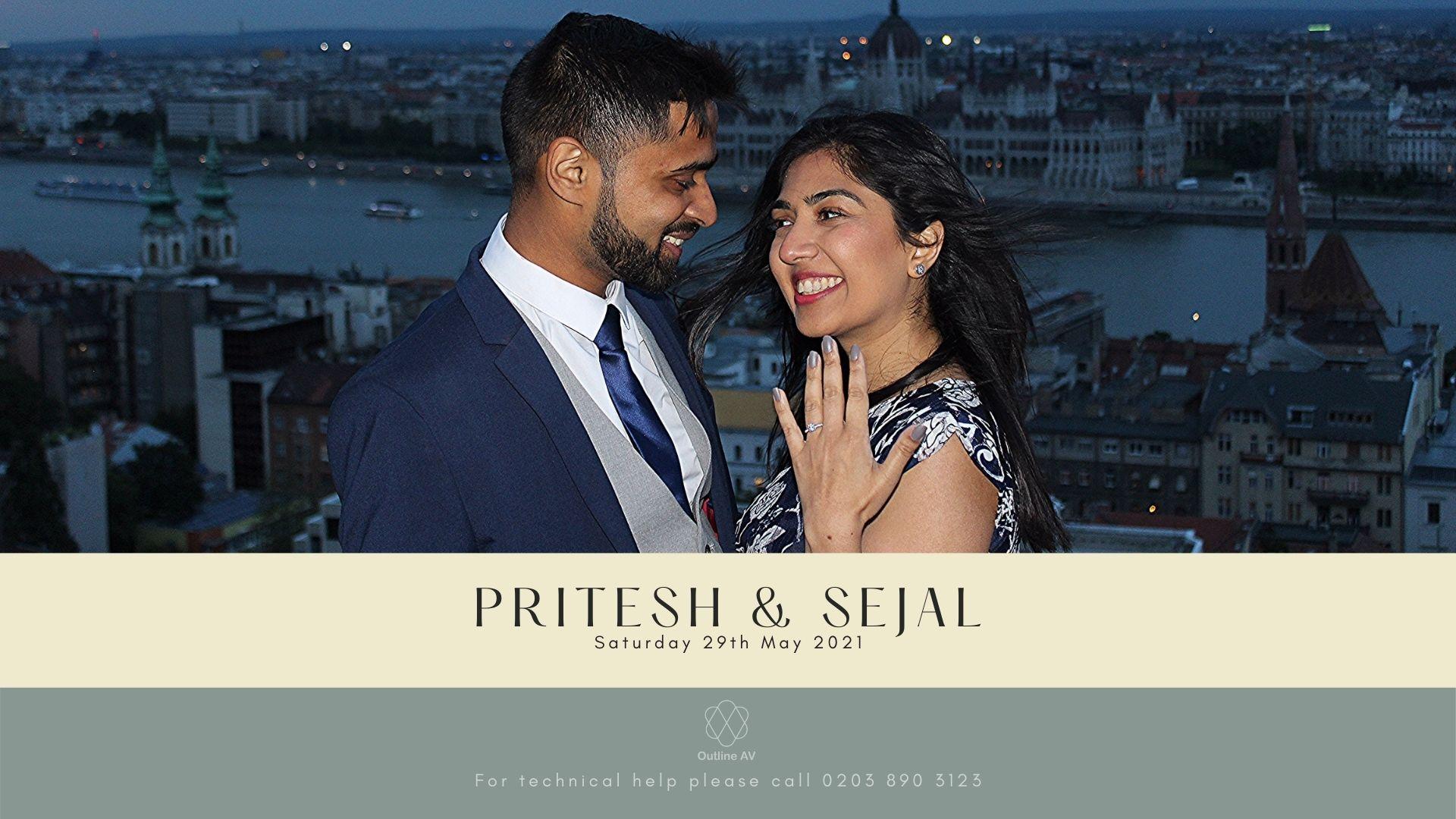 Pritesh & Sejal - Live Stream