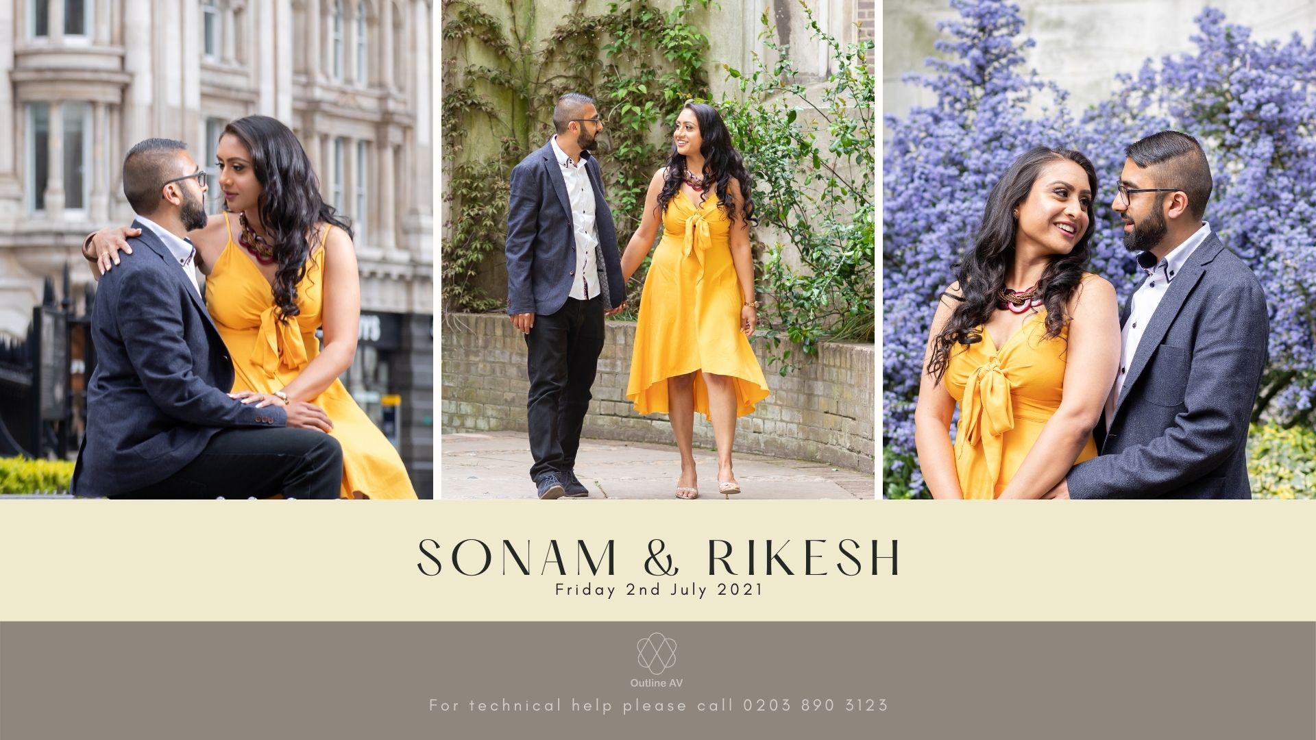 Sonam & Rikesh - Live Stream (1)