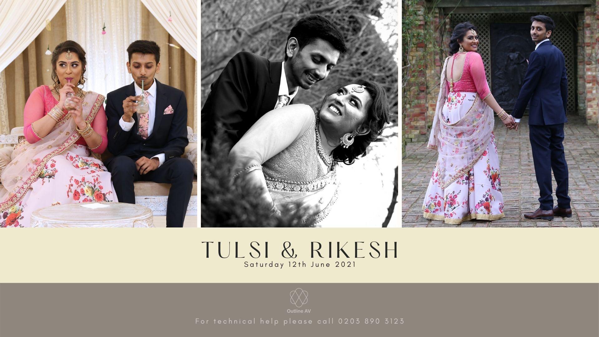 Tulsi & Rikesh - Live Stream