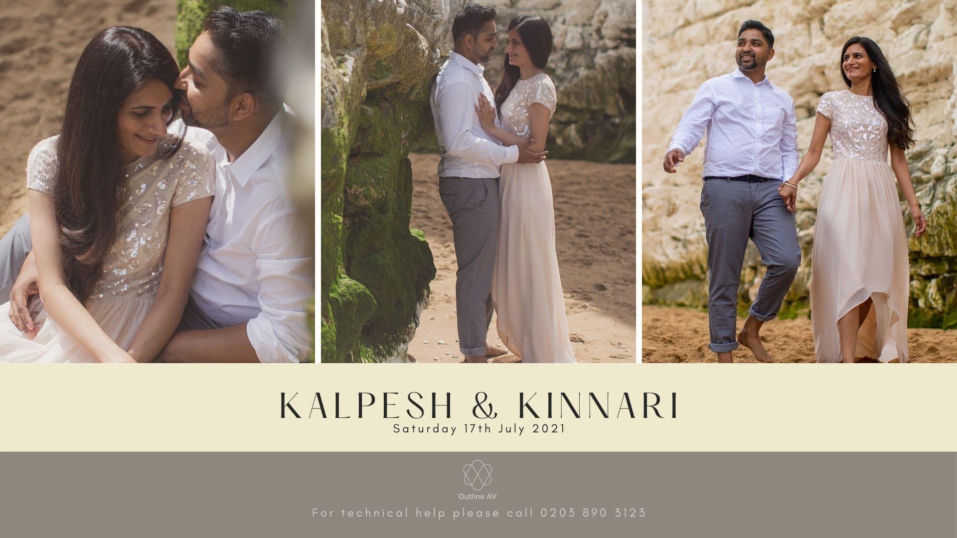 Kalpesh & Kinnari - Live Stream