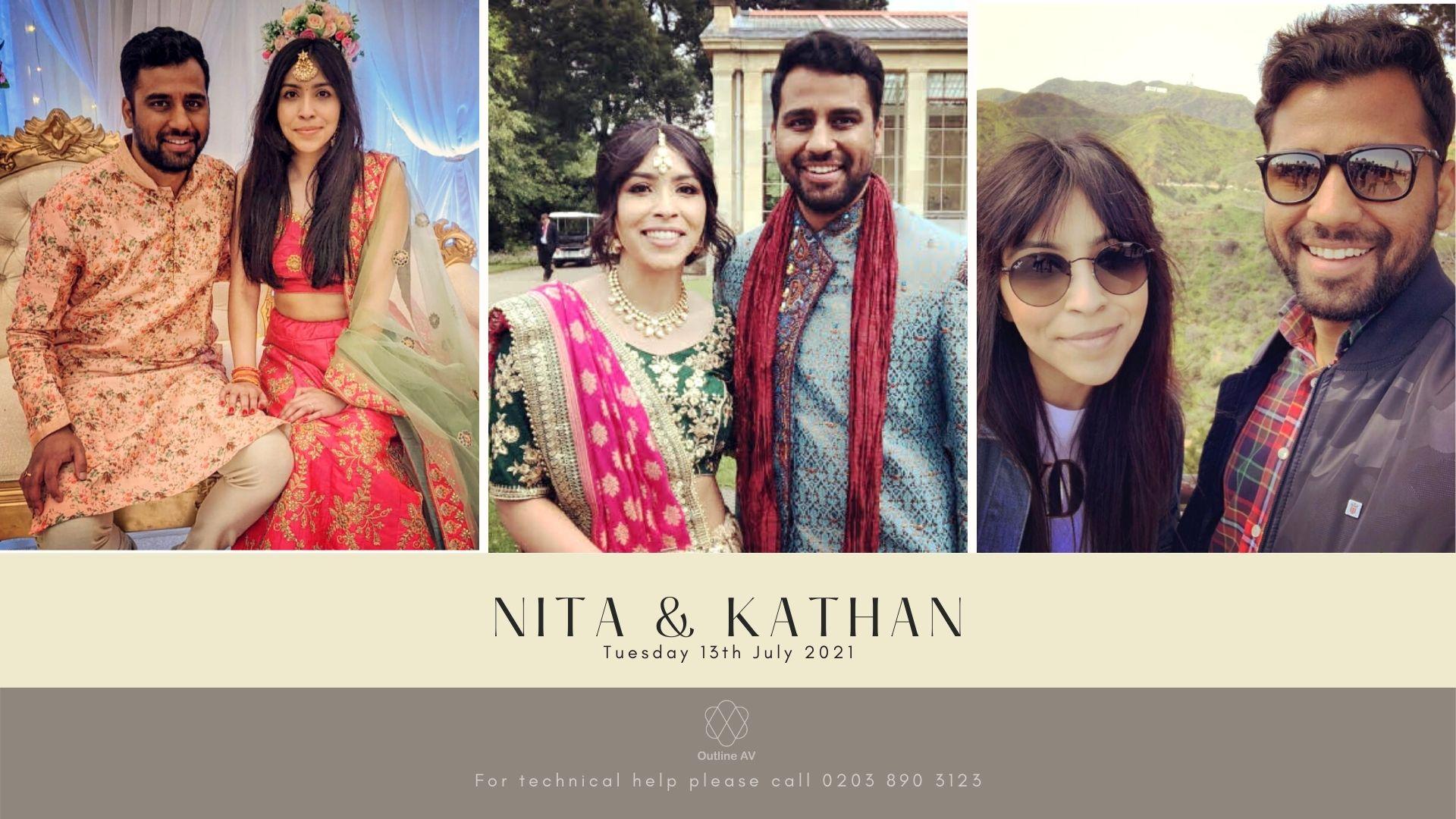 Nita & Kathan - Live Stream