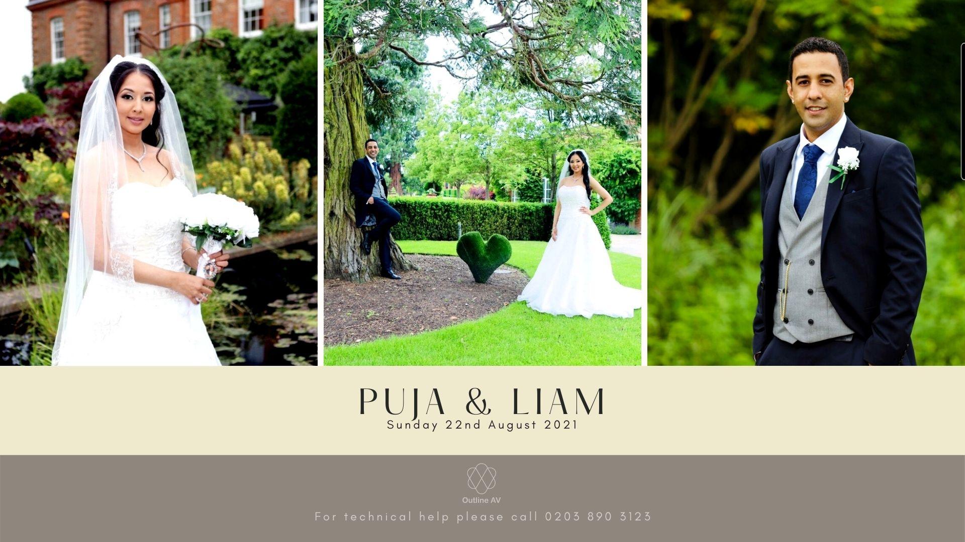 Puja & Liam